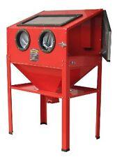 Cabine de sablage à manches, Microbilleuse Aerogommeuse 220 litres + accessoires