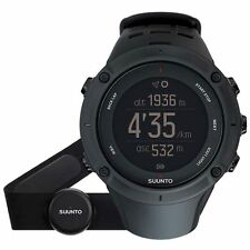 New Suunto SS020674000 Ambit3 Peak Black (HR) Digital Display Quartz Watch