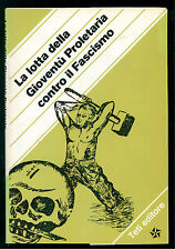 LA LOTTA DELLA GIOVENTU PROLETARIA CONTRO IL FASCISMO TETI 1975