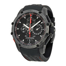 Chopard Mens Superfast Split Second Black Automatic Swiss Made Watch 168542-3001