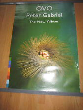 PETER GABRIEL Ovo promo poster 20x30