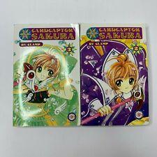 Card Captor Sakura Manga lot books 2 and 3