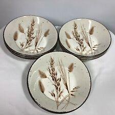 7 Midwinter Stonehenge Bowls Wild Oats Cereal 6.5 Inch Wedgwood Group