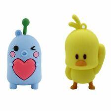 USB Flash Drive 32GB Pendrive Cartoon Cute Chick Chicken Heart Memory Stick Gift