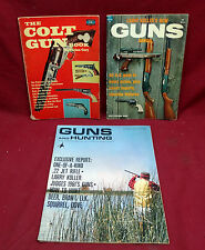Lot of 3 Vintage Gun/Hunting Related Soft Cover Books