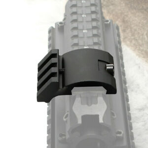 Low Profile 45 Degree Offset Picatinny Weaver Rail Mount Base For Laser Scope