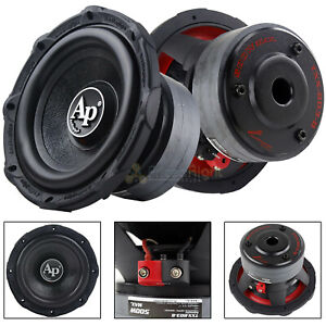 """2 Pack Audiopipe 8"""" Subwoofers 500 Watts Max 4 Ohm SVC Triple Stack TXX-BDC3-8"""