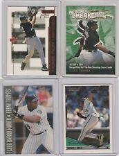 Frank Thomas Chicago White Sox Baseball 8 Card Lot Inserts and Base
