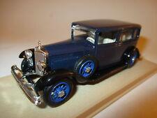 """Mercedes Benz Limousine saloon """"Nürnberg"""" 1929 blau bleu blue, Eligor 1:43 boxed"""