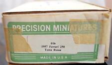 Precision Miniatures Metal Cast Kit FERRARI 250 Testa Rossa Complete unbuilt 016