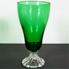 Anchor Hocking Forest Green Inspiration Burple Iced Ice Tea Water Goblet