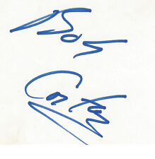 Bob Costas Autographed 3X5 Index Card Jsa Certified