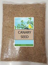 Canary Seed Alpiste 99% pure, triple cleaned, dust-free, 5 Lbs