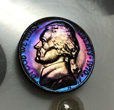 1970 S BU Toned Jefferson Nickel