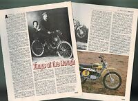 Old MONARK (Sweden) MOTORCYCLE Article/Photo's/Pictures