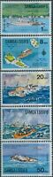 Samoa 1975 SG444-448 Interpex and Joyita set MNH