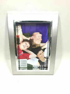 Lot of 2 4 x 6 Inches Grey & Silver Photo Frame