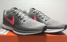 b280e98d9789a Nike Womens Size 12 Air Zoom Pegasus 34 Grey Pink Running Shoes Sneakers  880560