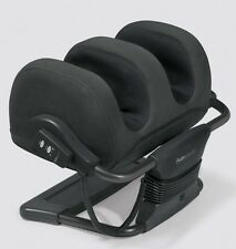 iJoy Ottoman Calf & Foot Massage Black Microsuede Fabric Massager by Human Touch