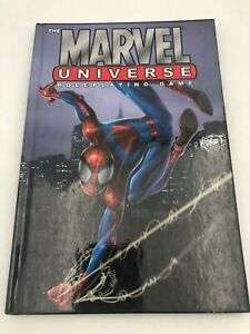 Marvel Universe Role Playing Game Hard Cover Book 2003 Comic Book