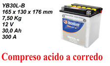 YB30L-B Tecnium Batteria 12V30Ah+Acido HARLEY DAVIDSON FLH Series 1450 00 01 02