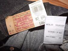"""LEVIS 901 VINTAGE JEANS W27"""" L30"""" (ORIGINAL) 369"""