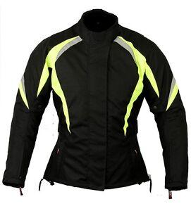 Nightwatch Ladies Motorbike Jacket Womens Waterproof Motorcycle Body Armour