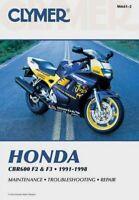 Clymer Honda : Cbr600 F2 and F3 1991-1998, Paperback, Brand New, Free P&P in ...