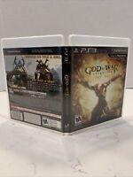 🔥God Of War Ascension Sony PS3 Video Games Complete Clean Disc Artwork Case