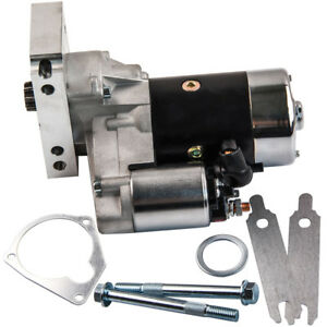 700HP Starter Motor For CHEVROLET CHEVY V8 153 or 168 Tooth Ring Gear 3HP  9TH