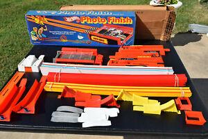 VTG 1980 Mattel Hot Wheels Photo Finish Track Set W/ Box