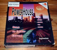 PowerHouse PC DOS IBM Game 1995 Big Box Power House