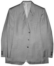 $5300 NEW BRIONI GRAY HERRINGBONE 100% CASHMERE SPORTCOAT JACKET 46L/48L 46/48 L
