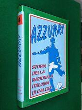 1 VHS - STORIA DELLA NAZIONALE ITALIANA CALCIO , AZZURRI 4 (Gianni Brera)
