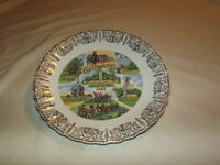 VINTAGE  1960S GETTYSBURG PA COLLECTOR PLATE