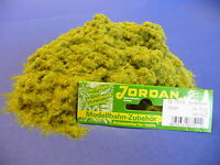 Jordan Grasfaser Streumaterial grün  Maxi-Pack 50g für H0 & N & Z        751A