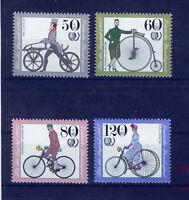 ALEMANIA/RFA WEST GERMANY 1985 MNH SC.B630/B633 Antique bicycles