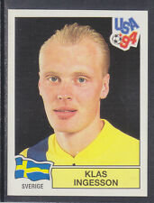 Panini - USA 94 World Cup - # 152 Klas Ingesson - Sverige (Green Back)