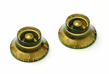 Aged oro bell Knob Set Montreux fits to Les Paul ®