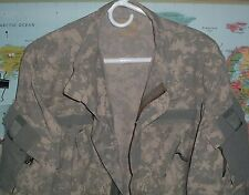 ARMY CAMO DIGITAL ACU JACKET SHIRT AFGHANI TESTED MEDIUM X LONG USED