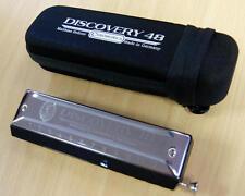Harmonica chromatique Hohner Discovery 48 en Do-C, 12 trous, neuf, avec housse.