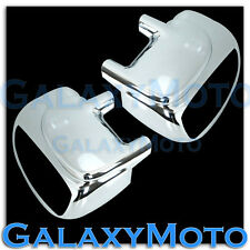 Ford 99-07 Super Duty F250+F350+450 W/Turn Signal HOLE Chrome Mirror Cover Pair