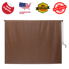 6 Ft Window Sun Shade Blind Roller Roll Up Exterior Patio Outdoor Porch Cordless