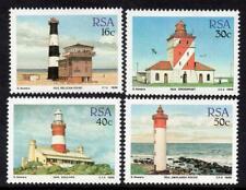 RSA MNH 1988 SG649-52 Lighthouses Set