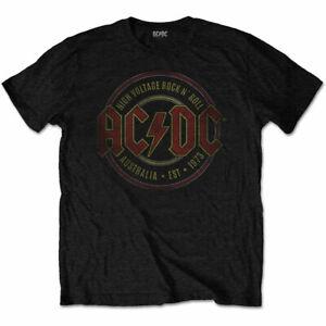 AC/DC - Est. 1973 Men's X-Large T-Shirt - Black