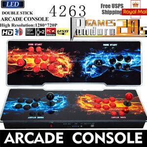 2021 Version! Pandora Box 20S 3D games Newest Classic arcade console 4263 In 1