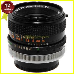 Canon FD 35mm f3,5 SC Obiettivo usato per fotocamere reflex manual focus FD FL