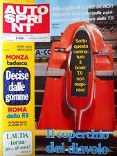 Autosprint n°13 1980 Mauro Baldi Michele ALboreto  [P7]