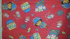 Dora the Explorer Dora's Pirate Adventure Fabric By the Yard 44 Wide Monkey Pig