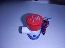 12 volt DC submersible pump 1100 GPH water fountain-marine bilge-solar-pond-RV